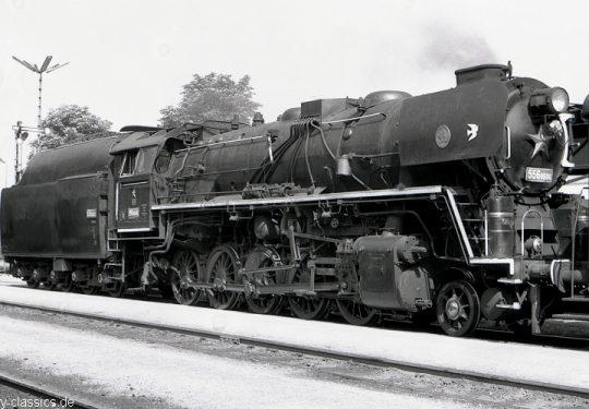 Tschechoslowakische Staatsbahnen Dampflokomotive CSD-Baureihe 556