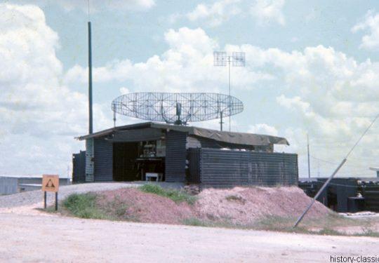 USA Vietnam-Krieg / Vietnam War - 6th Battalion 56th Air Defense Artillery Regiment - Surface to Air Missile (SAM) Raytheon MIM-23 Hawk - PAR Pulse Acquisition Radar