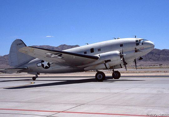 USAF United States Air Force Curtiss C-46F Commando