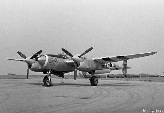 USAF United States Air Force Lockheed P-38J Lightning