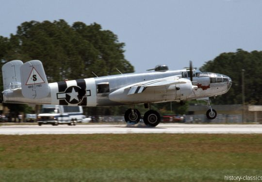USAF United States Air Force North American B-25J Mitchell