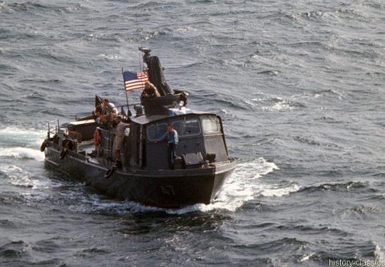 USA Vietnam-Krieg / Vietnam War - PCF Patrol Craft Fast SWIFT