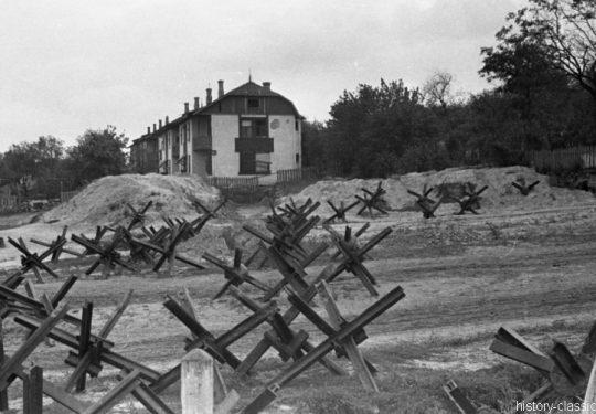Wehrmacht Heer Panzersperren