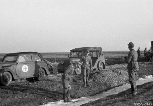 Wehrmacht Heer / Luftwaffe Ford Eifel Kabrio-Limousine