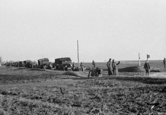 Wehrmacht Heer / Luftwaffe LKW gemischt