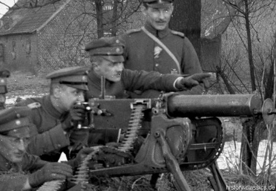 Deutsches Heer Ausbildung Maschinengewehr MG 08