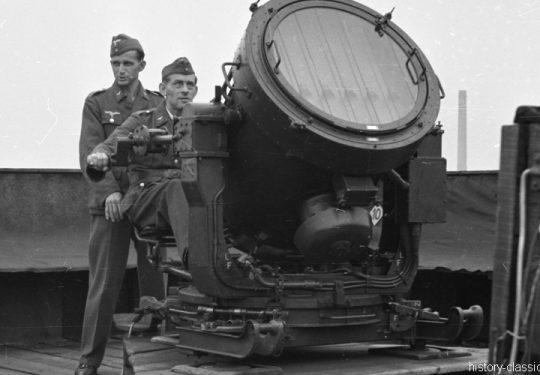 Wehrmacht Luftwaffe FLAK-Scheinwerfer / Flakscheinwerfer / Flak-Sw 36 60 cm