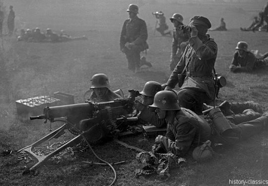 Wehrmacht Heer Maschinengewehr MG 08
