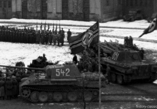 Wehrmacht Heer Panzerkampfwagen V PzKpfw V Panzer V Ausf. G Panther