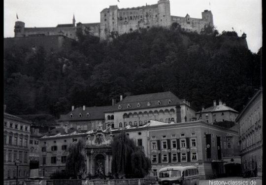 2. Weltkrieg Europa – Fronturlaub - Salzburg mit Festung Hohensalzburg