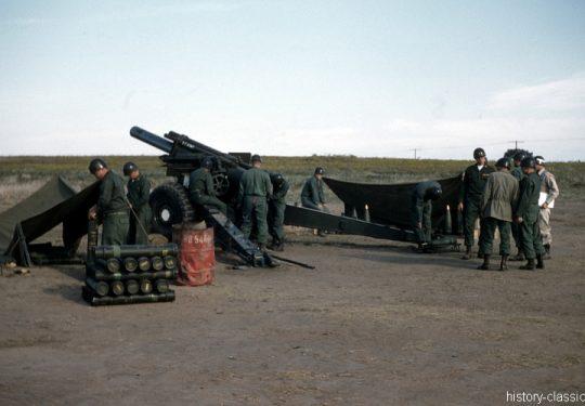 US ARMY / United States Army Schwere Feldhaubitze M114 - M1 155 mm / Heavy Howitzer M114
