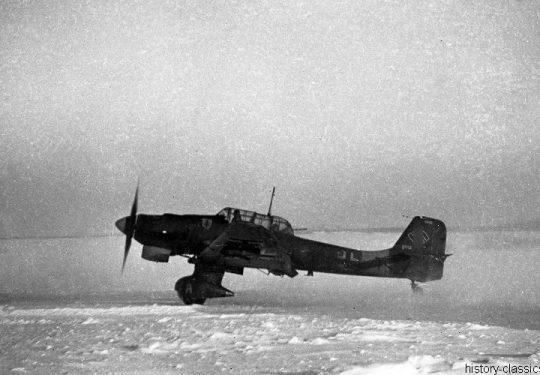 Wehrmacht Luftwaffe Sturzkampfbomber Junkes Ju 87 Stuka - Ostfront