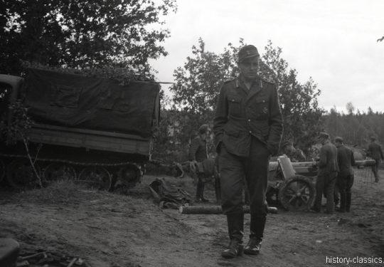 Wehrmacht Heer Raupenschlepper Ost RSO mit Panzerabwehrkanone PAK 97/38 75 mm / 7,5 cm