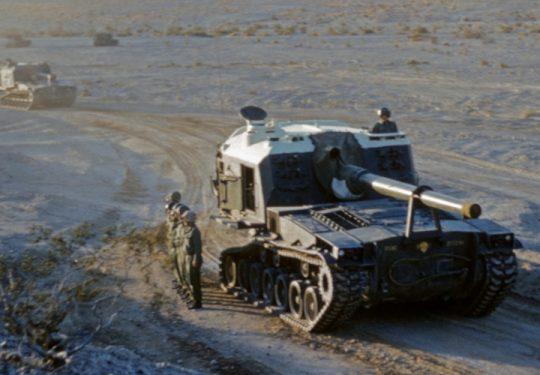 USMC United States Marine Corps Panzerhaubitze M53 155 mm / Self-Propelled Howitzer SPH M53 6.1 Inch und Panzerhaubitze M55 203 mm / Self-Propelled Howitzer SPH M55 8 Inch