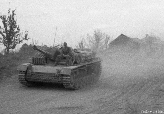 Wehrmacht Heer Sturmgeschütz III StuG III Ausf. F