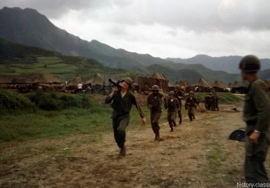 US ARMY / United States Army Rückstoßfreie Geschütz / Recoilless Rifle M18 57 mm - USA Korea-Krieg / Korean War