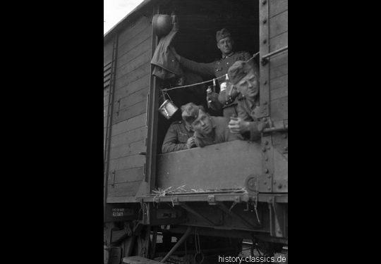 Deutsche Reichsbahn / Wehrmacht - Truppentransport
