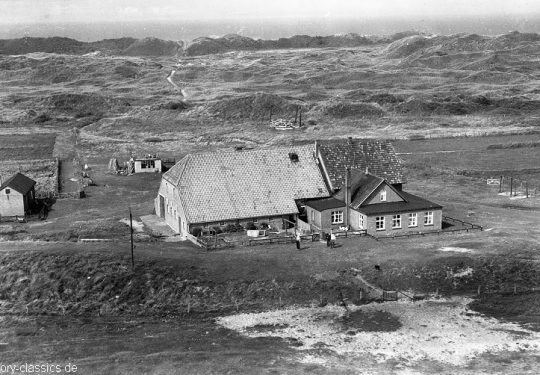 Momentaufnahme Insel Juist / Snapshot Juist Island - Bauernhof Domäne Bill / Farm Domain Bill - 1958