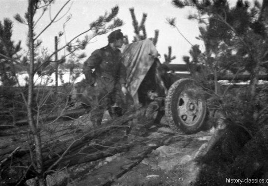 Wehrmacht Heer Feldkanone FK 76,2 mm - Ex Sowjetische Divisionskanone M1942 SiS-3 7,62 cm