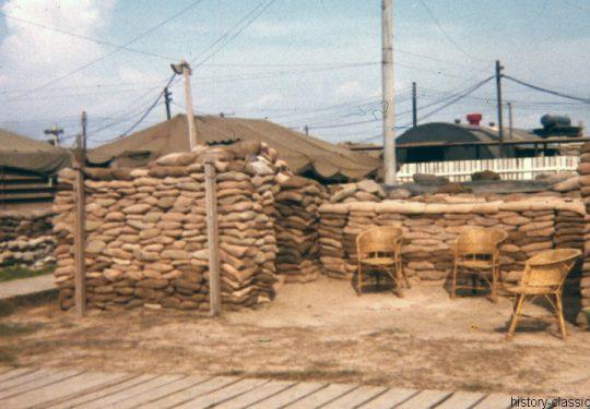 USA Vietnam-Krieg / Vietnam War - 25th Medical Battalion Cu Chi - Bunker