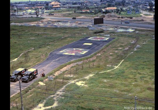 USA Vietnam-Krieg / Vietnam War - 3rd Field Hospital Ho Chi Helipad