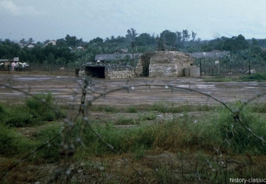 USA Vietnam-Krieg / Vietnam War - Bunker Dau Tieng