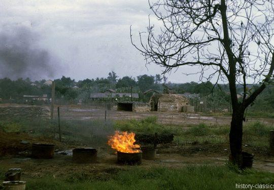 USA Vietnam-Krieg / Vietnam War - Airfield Dau Tieng