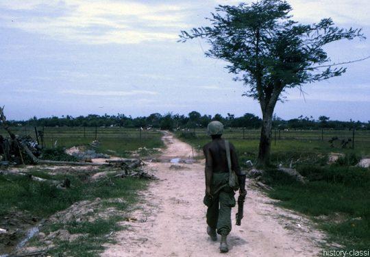 US ARMY / United States Army Grantwerfer / Grenade Launcher M79 -  - Vietnam-Krieg / Vietnam War