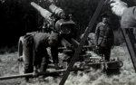 Wehrmacht Heer Ausbildung mit Schwerer Kanone 18 17 cm