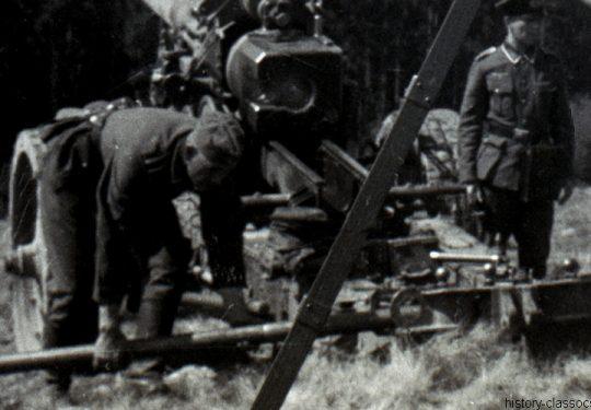 Wehrmacht Heer Ausbildung – Schwere Kanone 18 17 cm