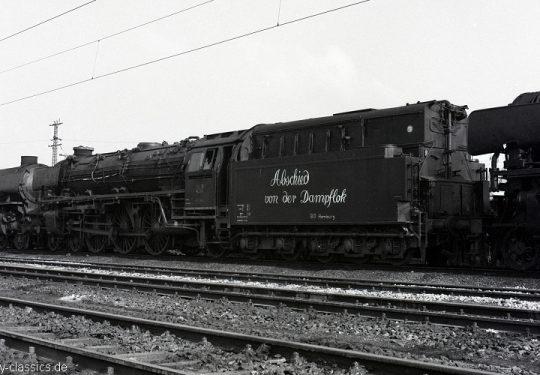 Deutschen Bundesbahn - Abschied von der Dampflok in Hamburg