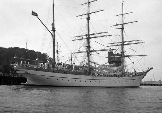 Drittes Reich Segelschulschiff Gorch Fock (1)