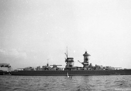 Wehrmacht Kriegsmarine Panzerschiff Deutschland