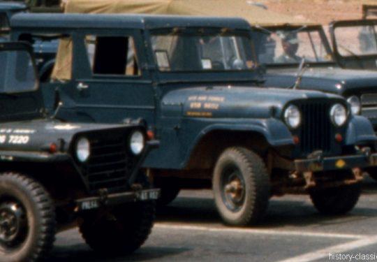 USAF United States Air Force Geländewagen / Jeep Willys-Overland M38