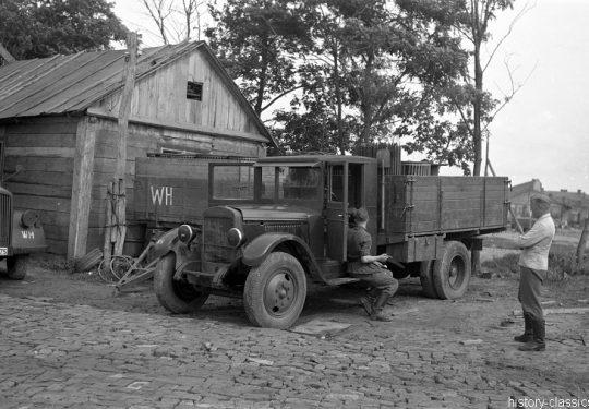2. Weltkrieg Sowjetarmee / Rote Armee – Ostfront - LKW ZIS-5