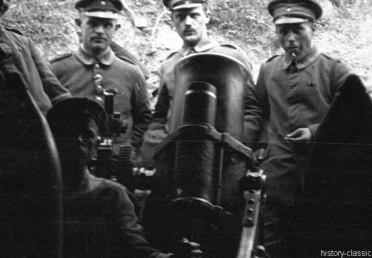 Deutsches Heer Schwerer Minenwerfer 25 cm