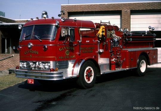USA US-Fire Truck MACK C Model Pumper