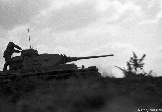 Wehrmacht Heer Panzerkampfwagen III PzKpfw III Panzer III Ausf. H