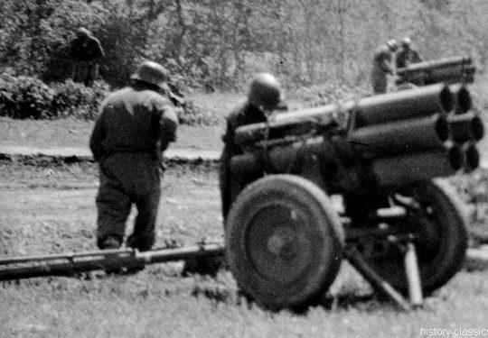 Wehrmacht Heer Nebelwerfer 41 15 cm / 150 mm