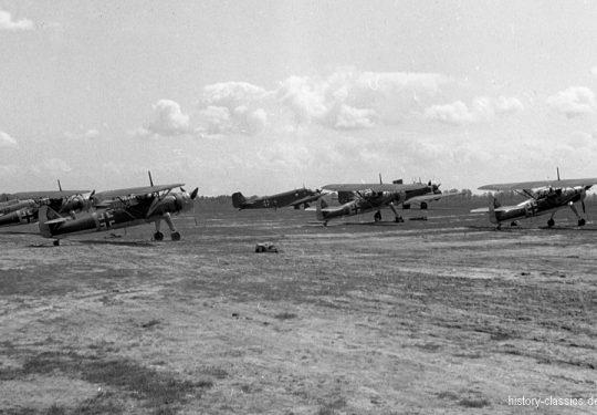 Wehrmacht Luftwaffe Henschel Hs 126